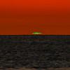 """Green Flash"", Sunset phenomenon from Captiva Island, Florida, USA"