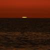 Green flash at sunset from Captiva Beach, Florida