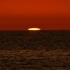 Green Flash at sunset, Captiva Beach, Florida