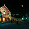 Blood Moon Eclipse over Stanford Memorial Church