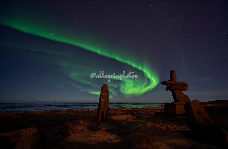 Aurora Borealis, Hudson Bay, Canada