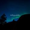 Big dipper and Aurora borealis, Geiranger, Norway
