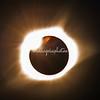Lens refractions Solar eclipse 2017