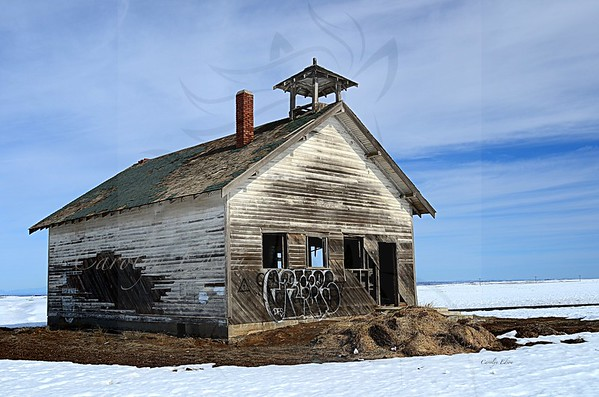92 ~ Highland School  house.