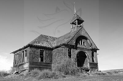 95 ~ Govan school in black and white.