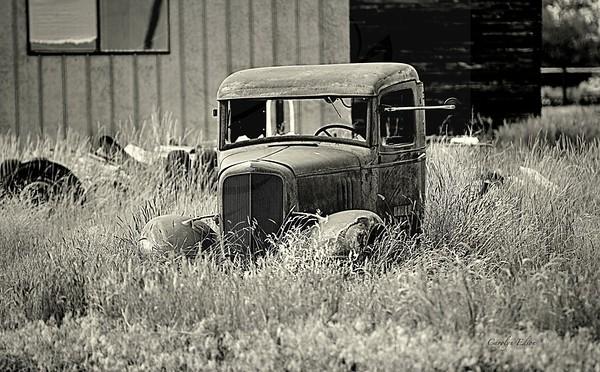 Chevy in B/W