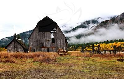 Fall at the Kumm barn.