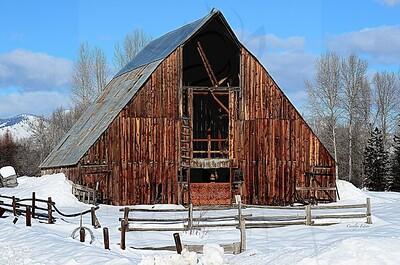 97 ~ Hope barn.