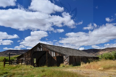 Peter French Long Barn