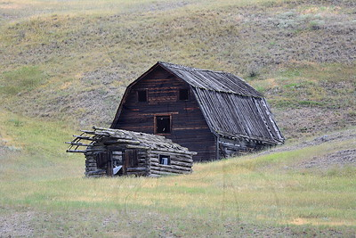 Chesaw barn and cabin