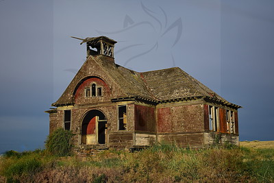 Two room school house.