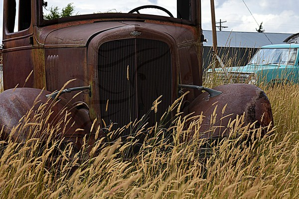 Final resting spot for a 1930's Chevy