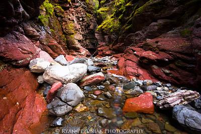 Red Rock Canyon, Waterton Lakes National Park.