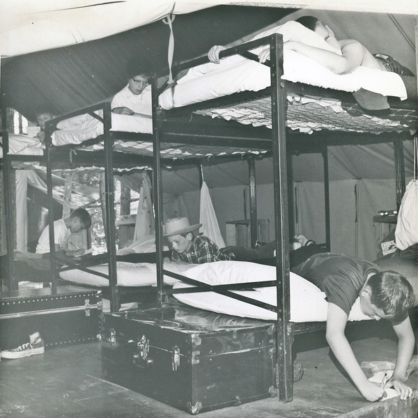 Living Quarters at Wildwood: Then