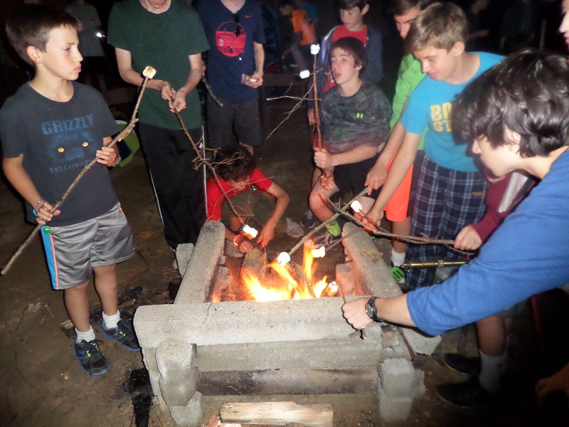 Campfire S'mores at Wildwood: Now