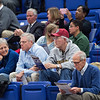 W&L's new president, Will Dudley, enjoys a basketball game with Athletic Director, Jan Hathorn and Special Assistant to the VP of University Advancement, Jeff Hanna.