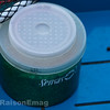 Small Sensas bait tub used for tougher older maggots.