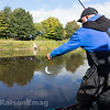 Swinging a nice dace to hand on the Bolo.