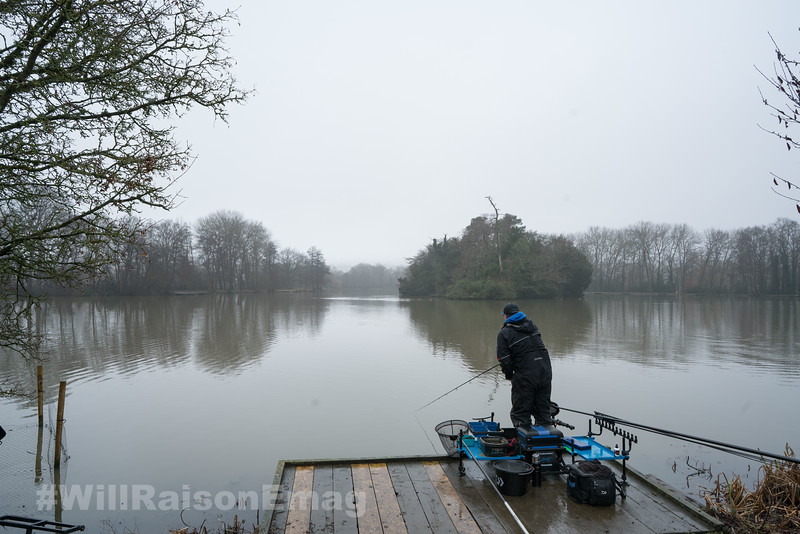Will Raison stands to cast at long range.