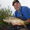 Will Raison fishing Syndicate Lake with pole and straight leger. © 2009 Brian Gay