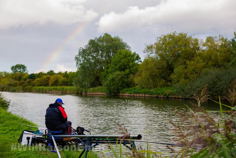 Rainbow over the Gloucester Canal