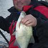 Will Raison holds a Gloucester canal skimmer