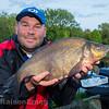 Will Raison holding a decent Goucester canal bream