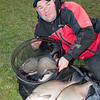 A nice catch of winter bream from Bury Hill Lake.