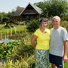 Denise & Jamie Cook owners of the Sedges Fishery , Bridgwater, Somerset.