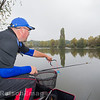 Will Raison loose feeding a longer pole swim with a catapult while fishing the paste short with a top kit.