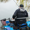 Will Raison plays a typical Middle Lake F1 carp at Gold Valley Lakes.