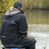 Will Raison fishing the long pole at 14.5 metres in open water for F1 carp.