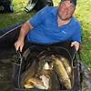 Will Raison's Carp Haul From The Sedges Canal Lake.