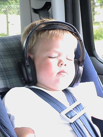 Sleeping in Car Seat