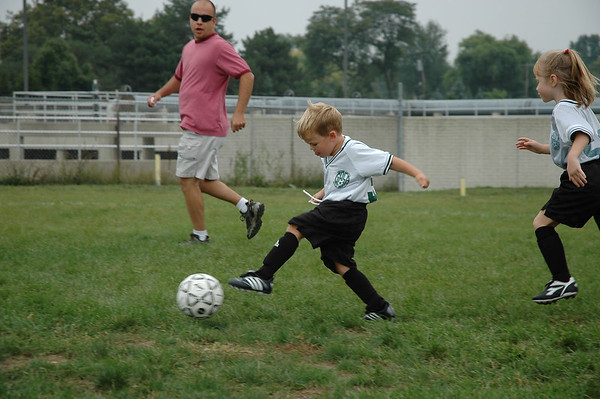 Playing Soccer (2)