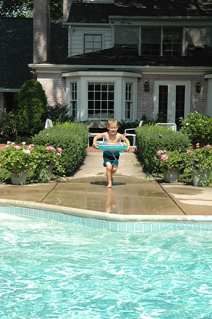 Jumping in Pool A (2)