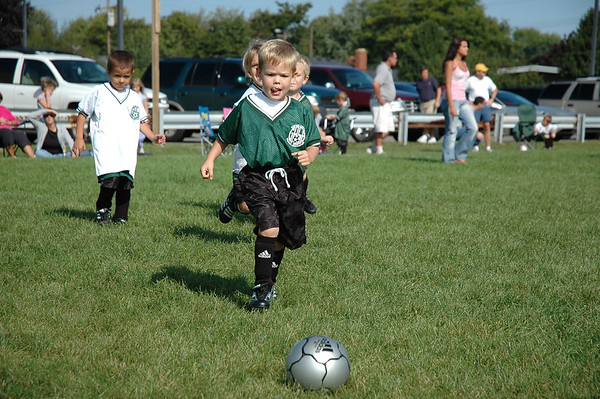 Playing Soccer (1)