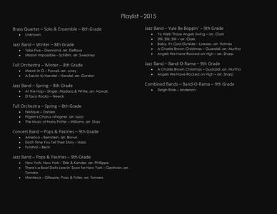 Playlist - 2015