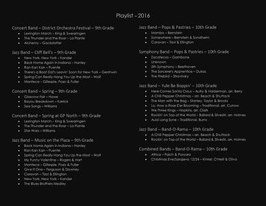 Playlist - 2016