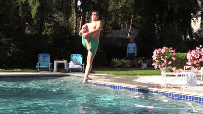 Slow Motion at the Pool