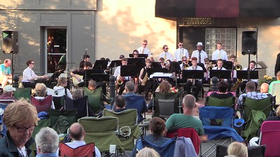Jazz Band - Music on the Plaza - 10th Grade (1)