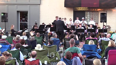 Jazz Band - Music on the Plaza - 10th Grade (2)