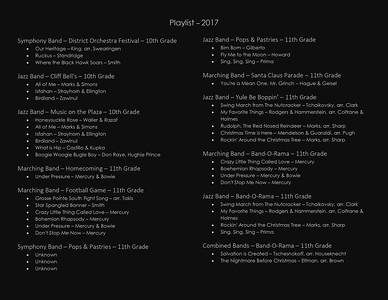 Playlist - 2017