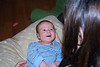 Will big smile at Mommy