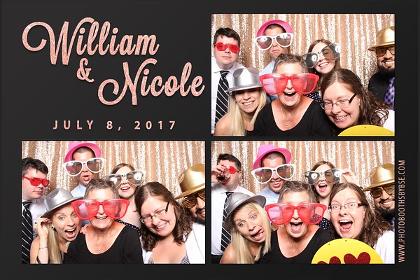 Will & Nicole's Wedding Photo Booth