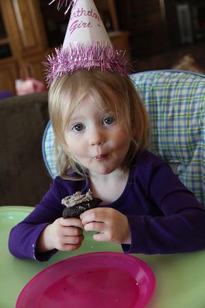 Elle's 2nd Birthday!