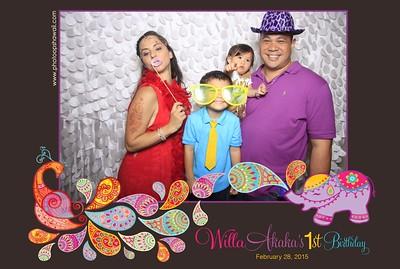 Willa's 1st Birthday (Fusion Photo Booth Photos)
