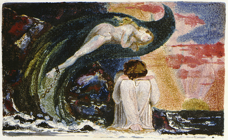Visions of the Daughters of Albion, Plate 7