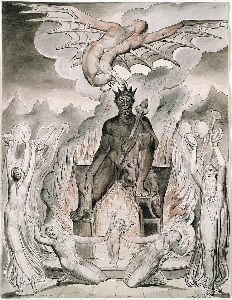 The Flight of Moloch
