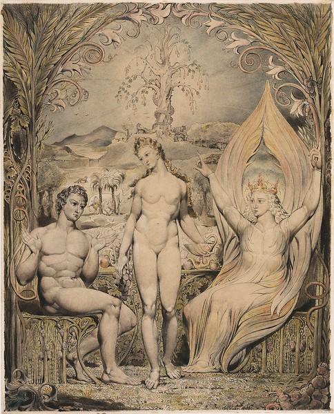Raphael Warns Adam and Eve